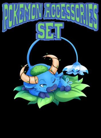 Blue Ox - Pokemon Accessories Set