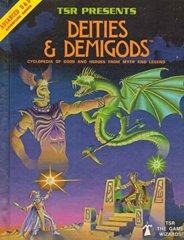 1st Edition (Advanced D&D) - Deities & Demigods (Acceptable)