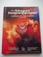 1st Edition (Advanced D&D) - Manual of the Planes (Acceptable)