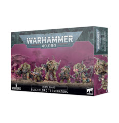 Chaos Space Marines - Death Guard Blightlord Terminators (43-51)