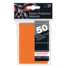 Ultra Pro - Solid Orange 50 Count Standard Sleeves (82673)
