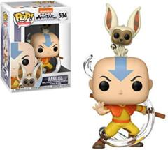 Avatar the Last Airbender - Aang with Momo #534