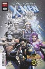 Uncanny X-Men (2018) #1 (Yu Premiere Variant)