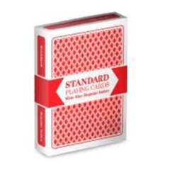 Brybelly - Brybelly Standard Playing Cards Wide Size Regular Index Deck (Red)