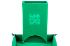Metallic Dice Games - Velvet Folding Dice Tower (Green)