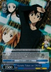 Kazuto Takes on 《ALO》 - SAO/S26-064R - RRR
