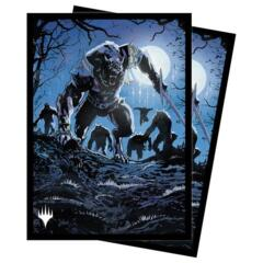 Ultra Pro - MTG Midnight Hunt - Tovolor, the Midnight Scourge 100 Count Standard Sleeves (18827)