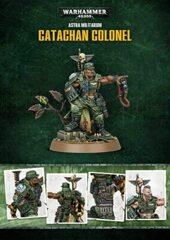 Astra Militarum - Catachan Colonel (Limited Edition Model)