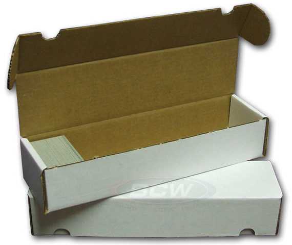 BCW - 800 Count Card Storage Box (1 Piece)