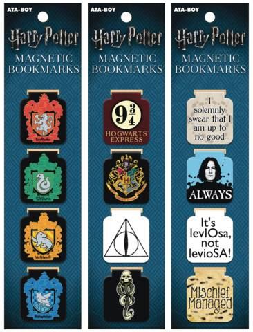 Harry Potter - Magnetic Bookmarks