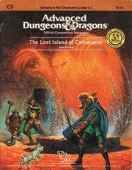 1st Edition (Advanced D&D) - C3 The Lost Island of Castanamir Module (Acceptable)