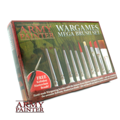 Army Painter - Wargames Mega Brush Set (ST5113)