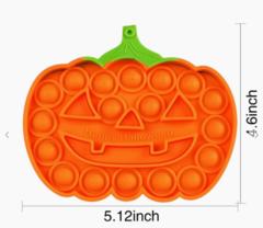 Halloween Push Pop it Fidget Sensory Toys (Assorted Pumpkins)