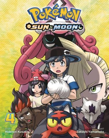 Pokemon Sun & Moon Graphic Novel Vol 04 - Comic Books, Manga, Trade
