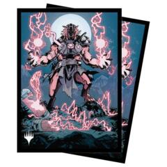 Ultra Pro - MTG Midnight Hunt - Storm-Charged Slasher 100 Count Standard Sleeves (18826)