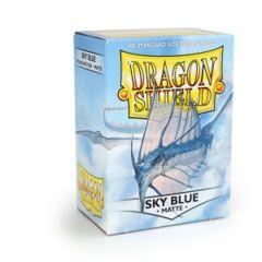 Dragon Shield - Matte Sky Blue 100 Count Standard Sleeves
