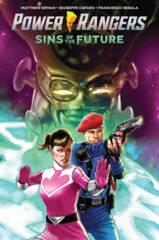 Power Rangers: Sins Of the Future Original Graphic Novel