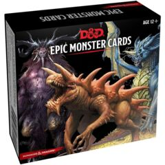 Dungeons & Dragons: Monster Cards - Epic Monster Cards