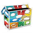 BCW - Comic Short Box (Pow Art)