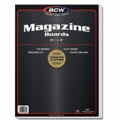 BCW - Magazine Backing Boards