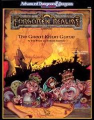 2nd Edition - Forgotten Realms: The Great Khan Game (Very Good)