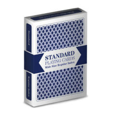 Brybelly - Brybelly Standard Playing Cards Wide Size Regular Index Deck (Blue)