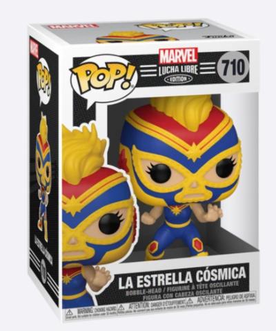 La Estrella Cosmica #710 (Marvel Lucha Libre Edition - Captain Marvel)