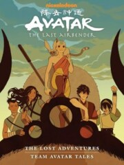 Avatar: The Last Airbender - Lost Adventures Library Edition Hardcover