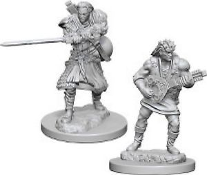 Human Bard (Male) (72632) - Gaming Supplies » RPG Miniatures » D&D