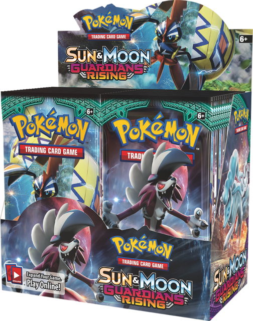 Sun & Moon: Guardians Rising Booster Box