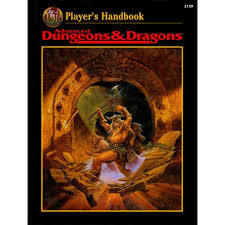 2nd Edition - Player's Handbook (Good Condition - Revised Edition)