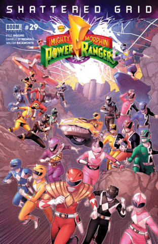 Rangers comic book morphin power mighty