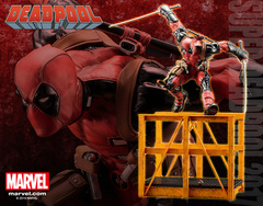 Marvel Now Super Deadpool 2017 ARTFX+ Statue