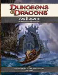 4th Edition - Vor Rukoth Supplement (New)