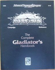 2nd Edition - Dark Sun Campaign Reference: The Complete Gladiator's Handbook (Very Good Condition)