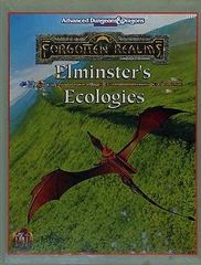 2nd Edition - Forgotten Realms: Elminster's Ecologies (Very Good Condition)