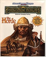2nd Edition - Forgotten Realms: The Horde Barbarian Campaign Setting (Box-Poor / Contents-Like New)