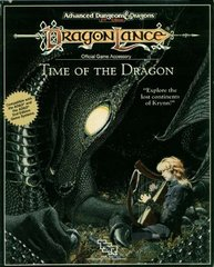 2nd Edition - Dragonlance: Time of the Dragon Box Set (Box-Poor / Contents-Like New)