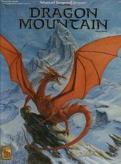 2nd Edition - Dragon Mountain Adventure Box Set (Box-Poor / Contents-Like New)