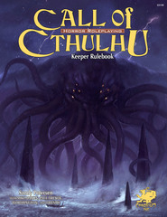 Call of Cthulhu: 7th Edition Rulebook -  Keeper Rulebook