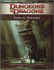 4th Edition - Tomb of Horrors (DM Reward Edition) (Like New)