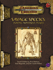 3rd Edition - Savage Species Supplement (Good)