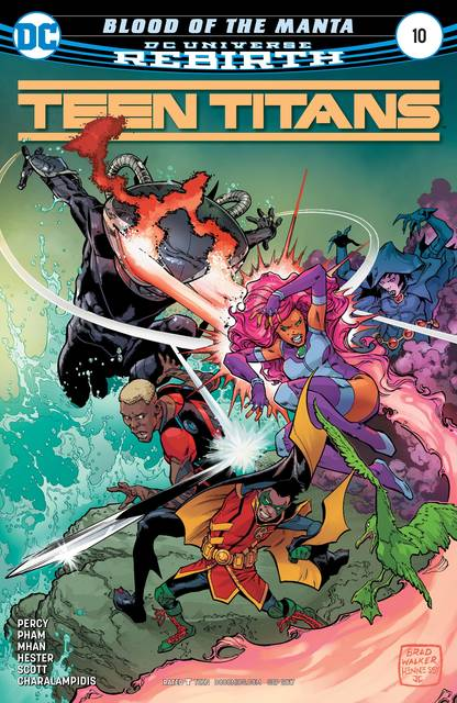 TEEN TITANS ISSUE #16 ADULT COLORING BOOK VARIANT COVER DC COMICS