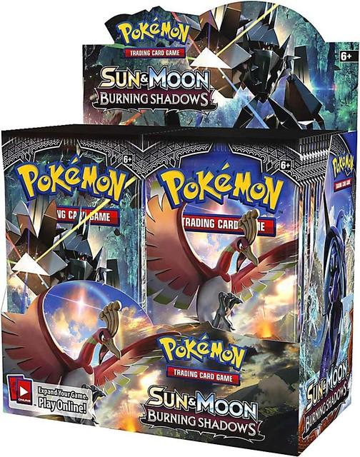 Sun & Moon: Burning Shadows Booster Box