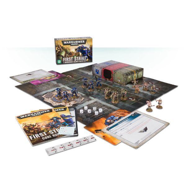 Warhammer 40,000: First Strike Warhammer 40,000 Starter Set (40-04-60) Kill Team Ready!