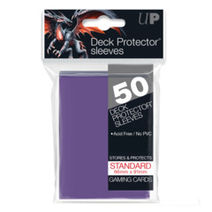 Ultra Pro - Solid Purple 50 Count Standard Sleeves (82676)