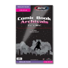 BCW - Comic Mylar Archivals Silver/Regular 2MIL (1-SIL-M2)