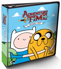 Cryptozoic - Adventure Time Trading Card Binder (Limited Edition)