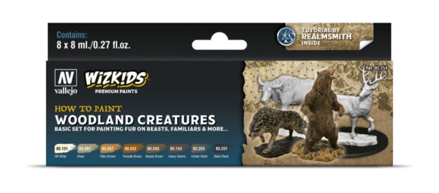 WizKids Premium Paints - How to Paint Woodland Creatures