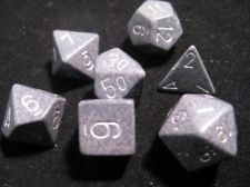 7-die Polyhedral Set - Speckled Hi-Tech - CHX25340